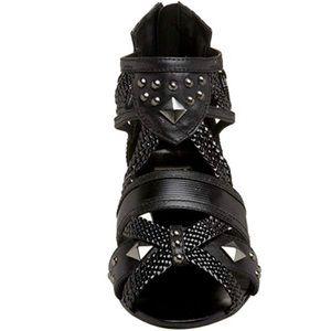 NAUGHTY MONKEY Studded Gladiator Sandals